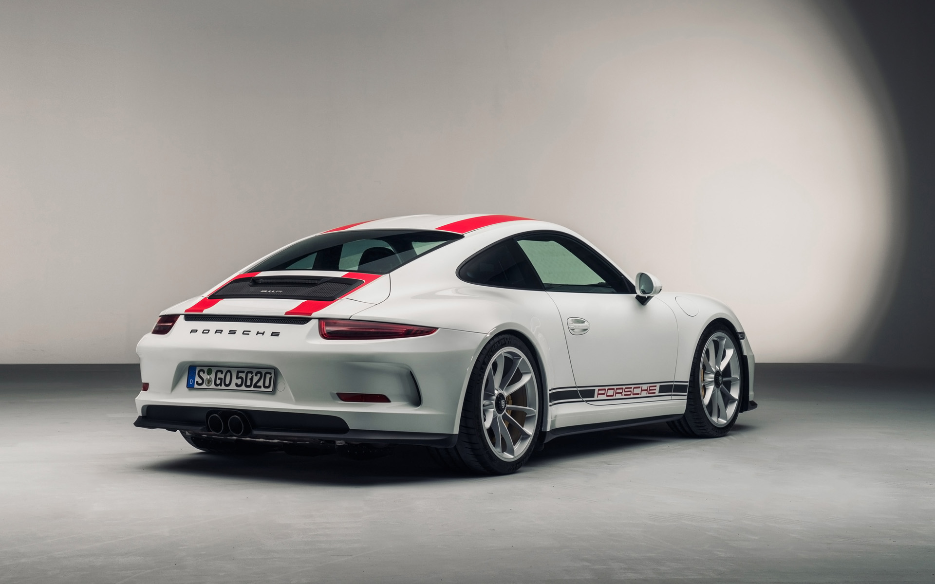 2016 Porsche 911 R   Studio   1   1920x1200   Wallpaper 1920x1200