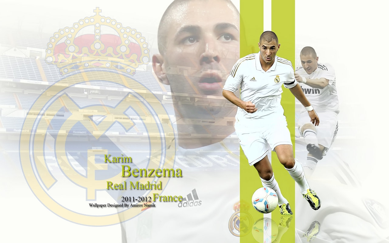 Free Download Karim Benzema Real Madrid 2011 2012 Wallpaper
