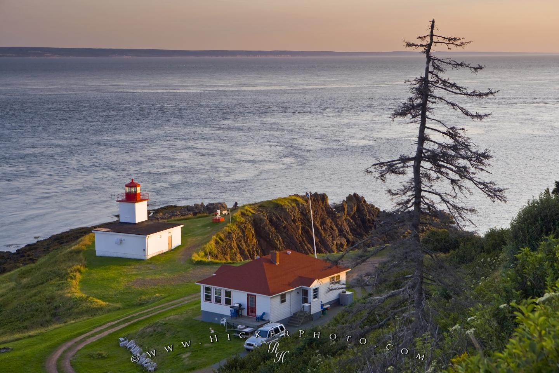 wallpaper background Cape D Or Lighthouse Nova Scotia 1440x960