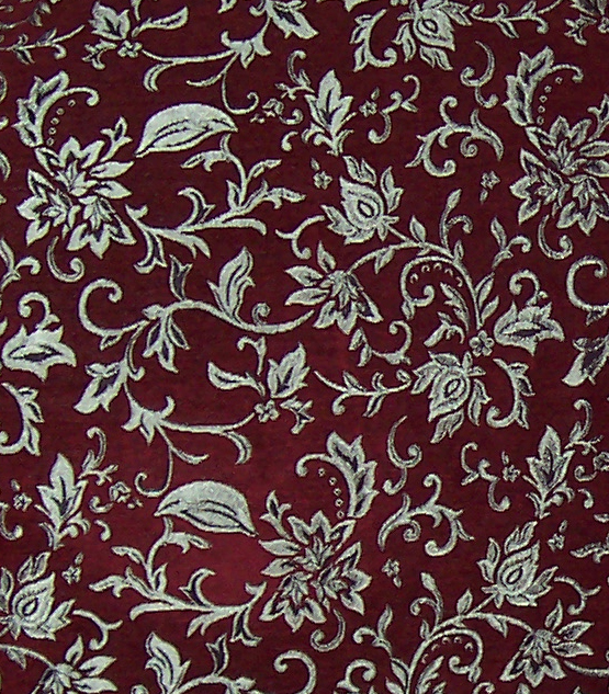 Red and Silver Brocade by 3 sisters stock 555x633