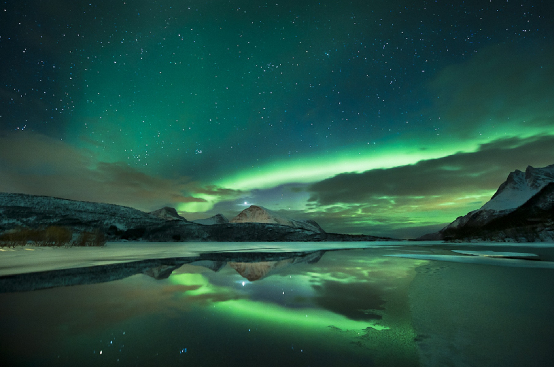 Northern Lights Wallpaper 1080p HD wallpaper background