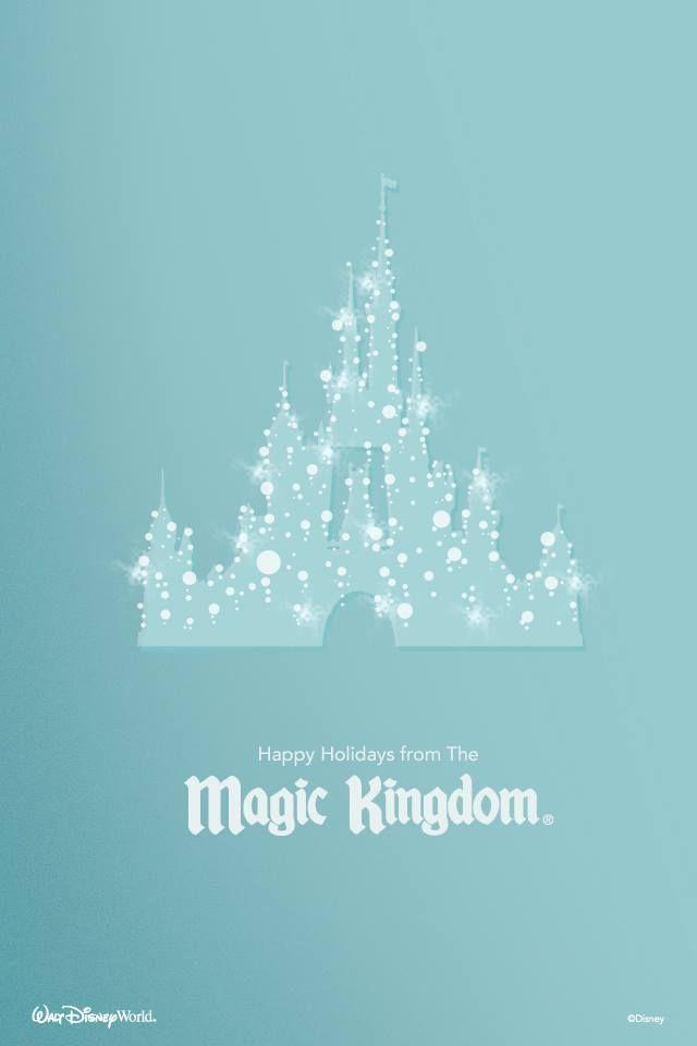 Merry Christmas from Magic Kingdom Disney Concept Art and Fan Art 640x960