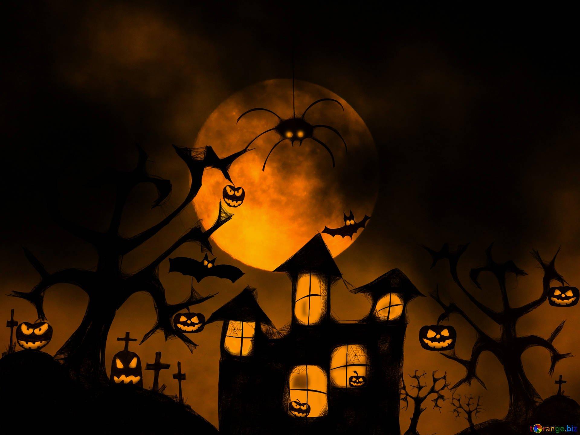 Halloween backgrounds halloween wallpaper for desktop halloween 1920x1440