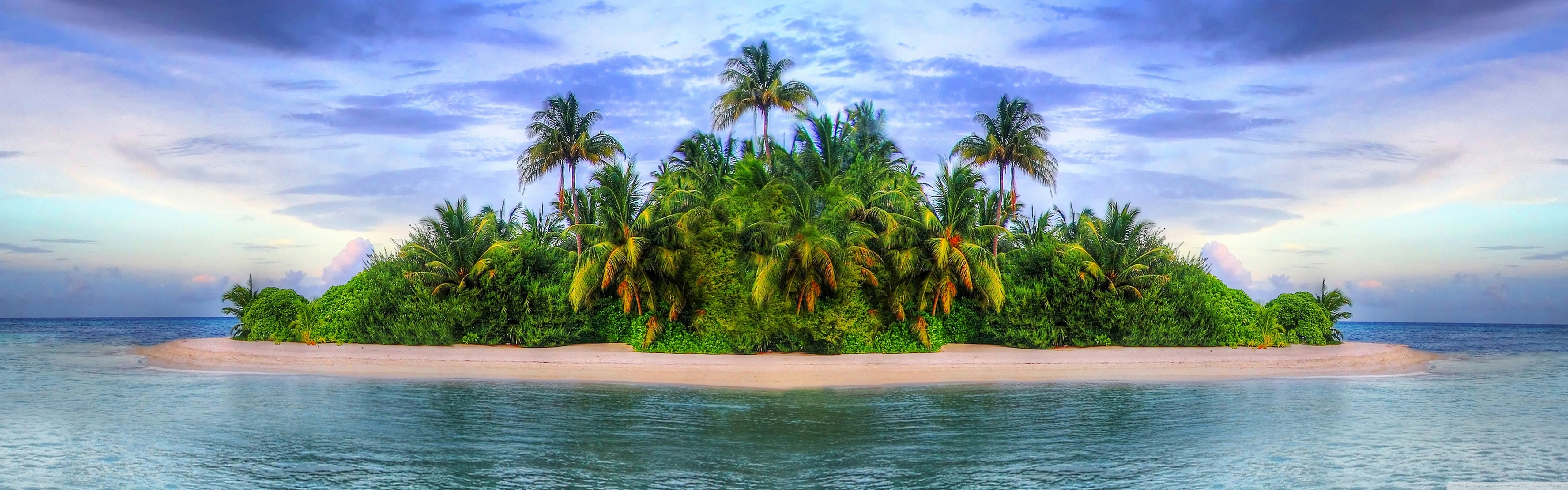 Tropical Island 4K HD Desktop Wallpaper for 4K Ultra HD TV 5120x1600