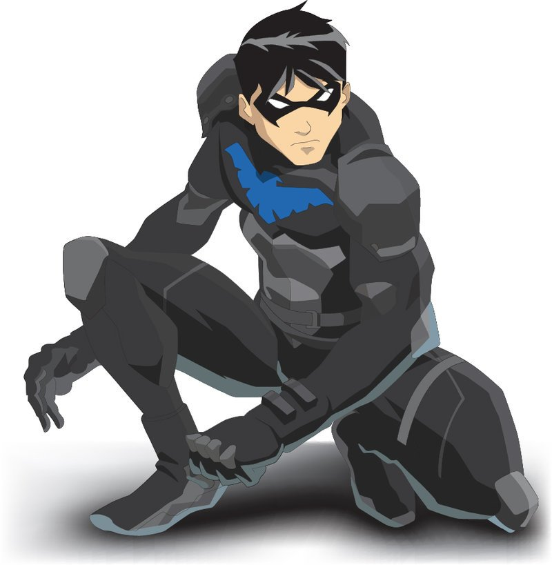 Young Justice Nightwing by yjrobin3 800x819