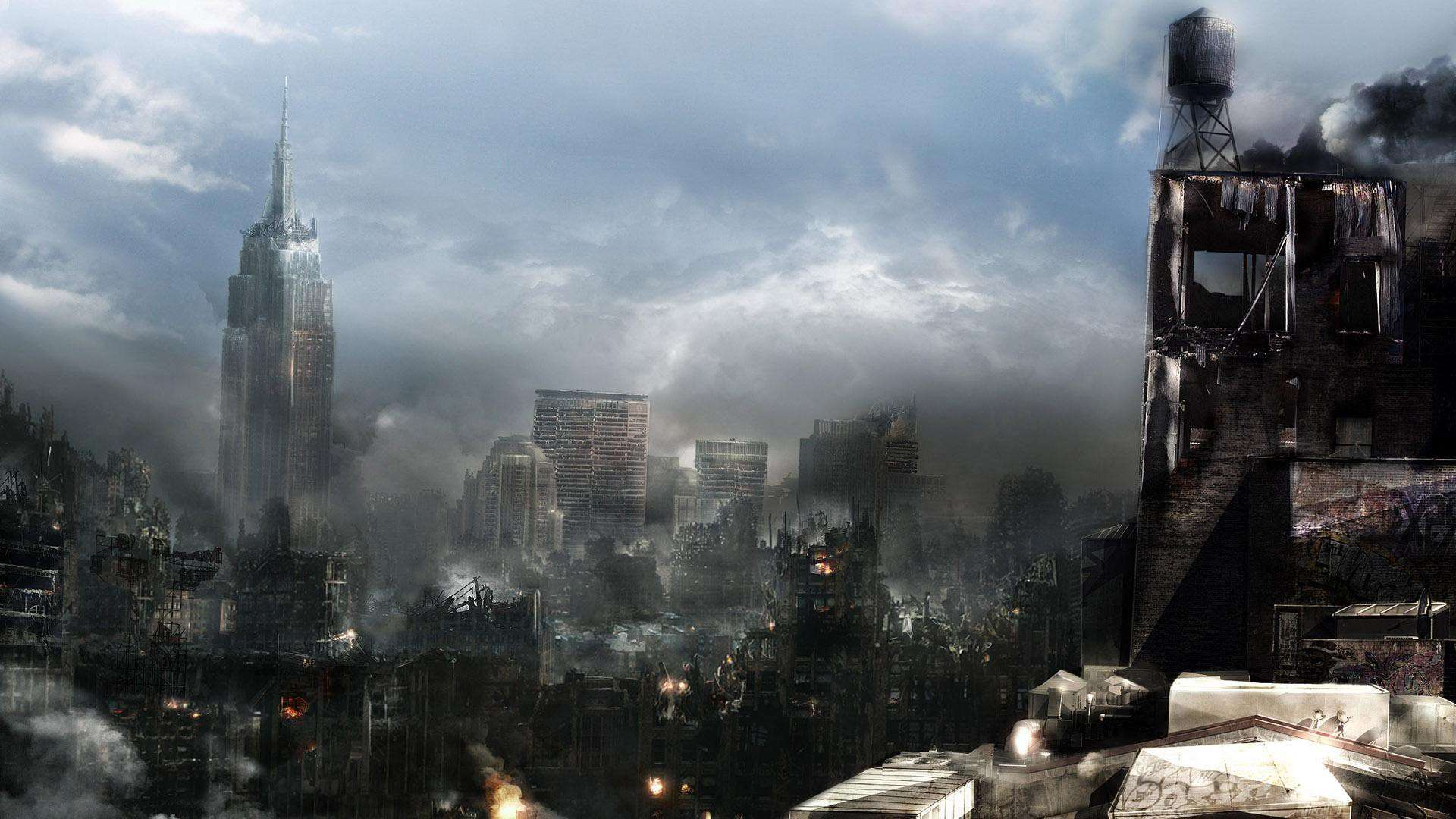 destroyed city wallpaper Collection 64 1920x1080