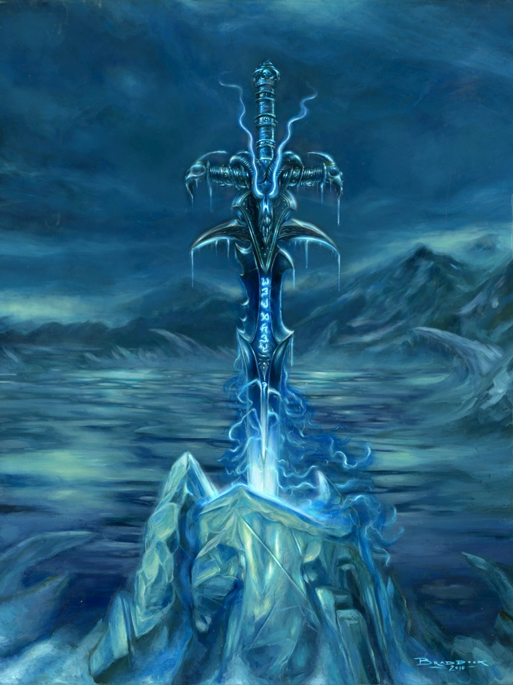 Frostmourne Wallpaper Wallpapersafari