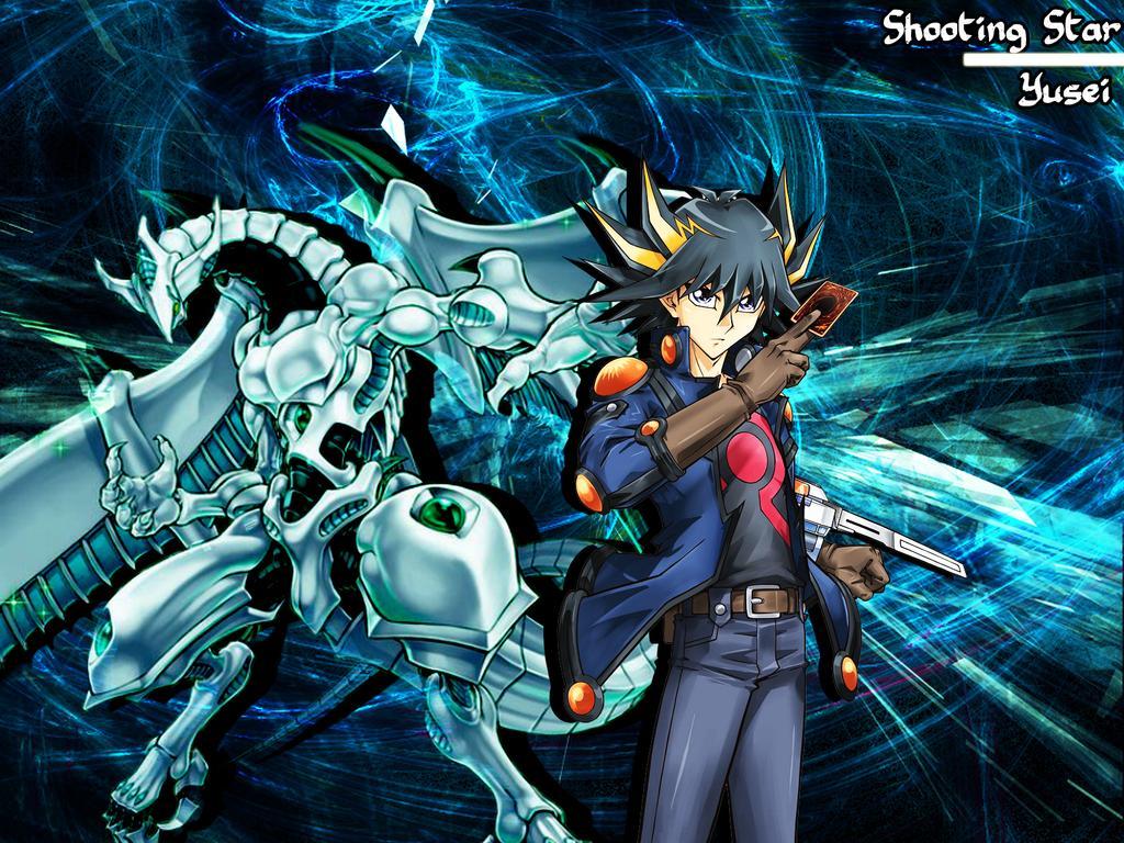 Shooting Star Dragoon And Yusei Wallpaper by RoxasFarron 1024x768