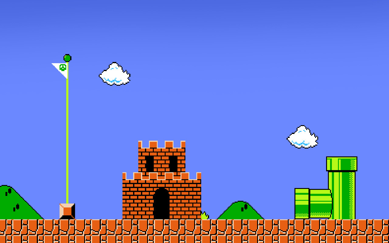Big Super Mario Desktop Background HD x HD Wallpapers Becas 1280x800