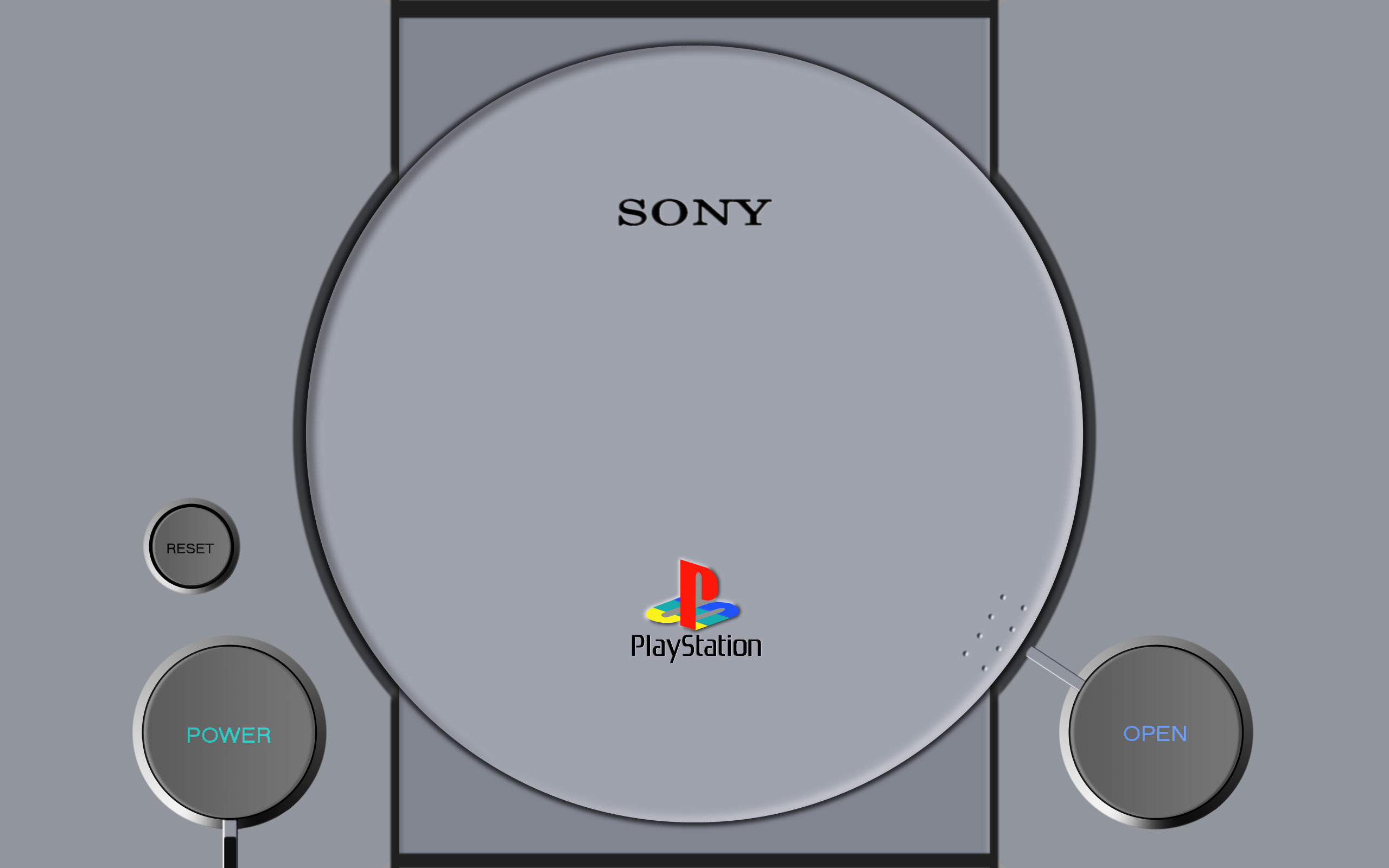Sony PlayStation Wallpaper 2560x1600