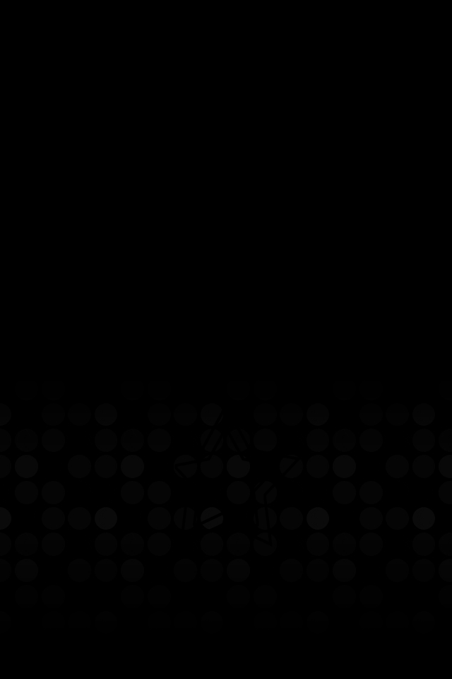 iPhone Wallpapers Black Circles Wallpaper 640x960