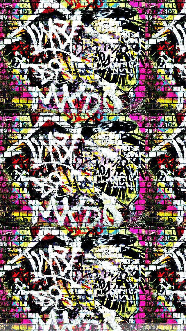 49 Graffiti Wallpaper For Iphone On Wallpapersafari