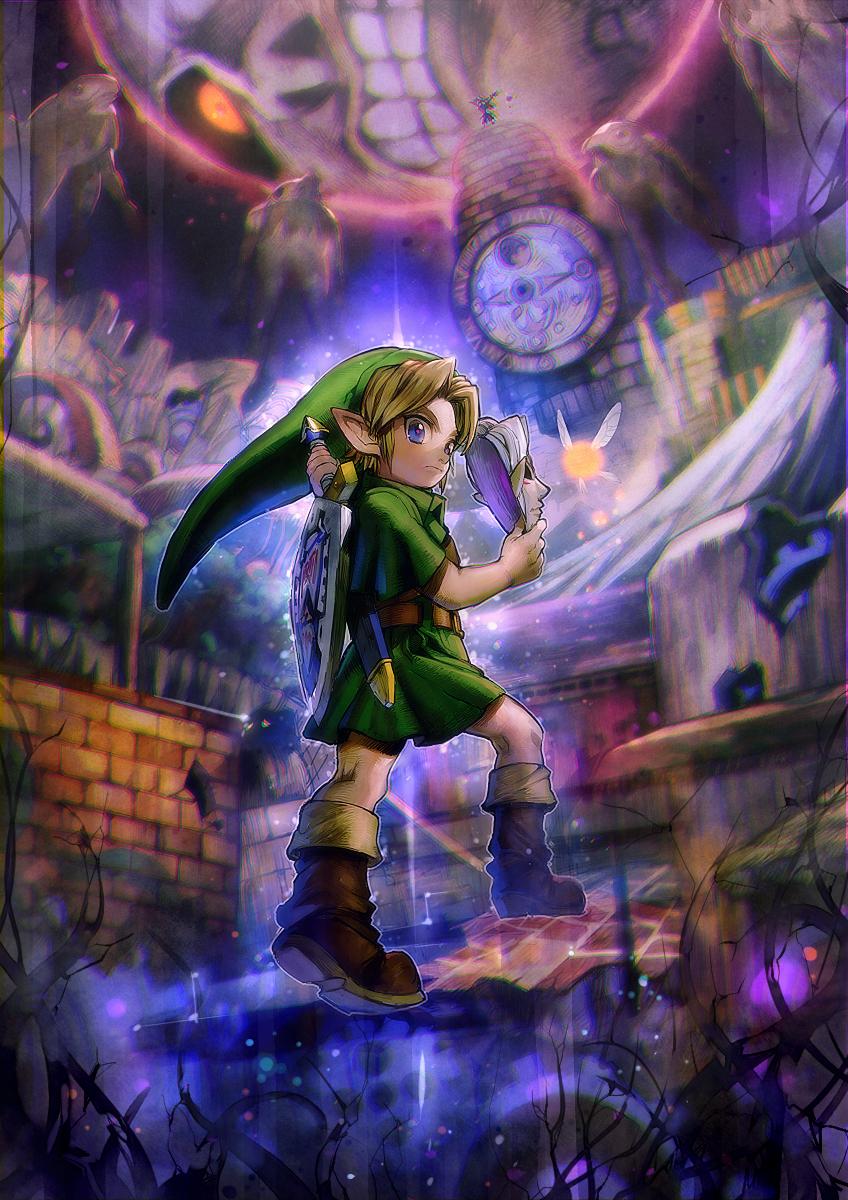 Zelda no Densetsu Mujura no Kamen The Legend Of Zelda Majoras 848x1200