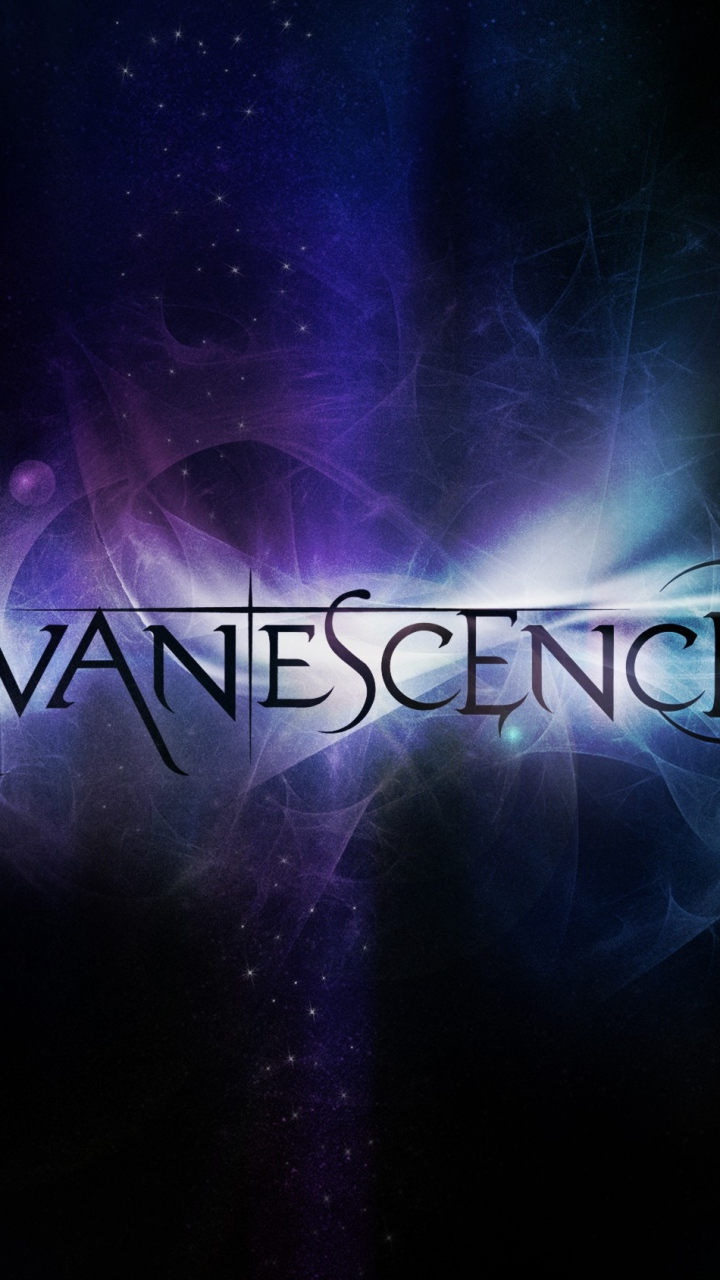 Wallpaper 720x1280 evanescence name graphics font background 720x1280