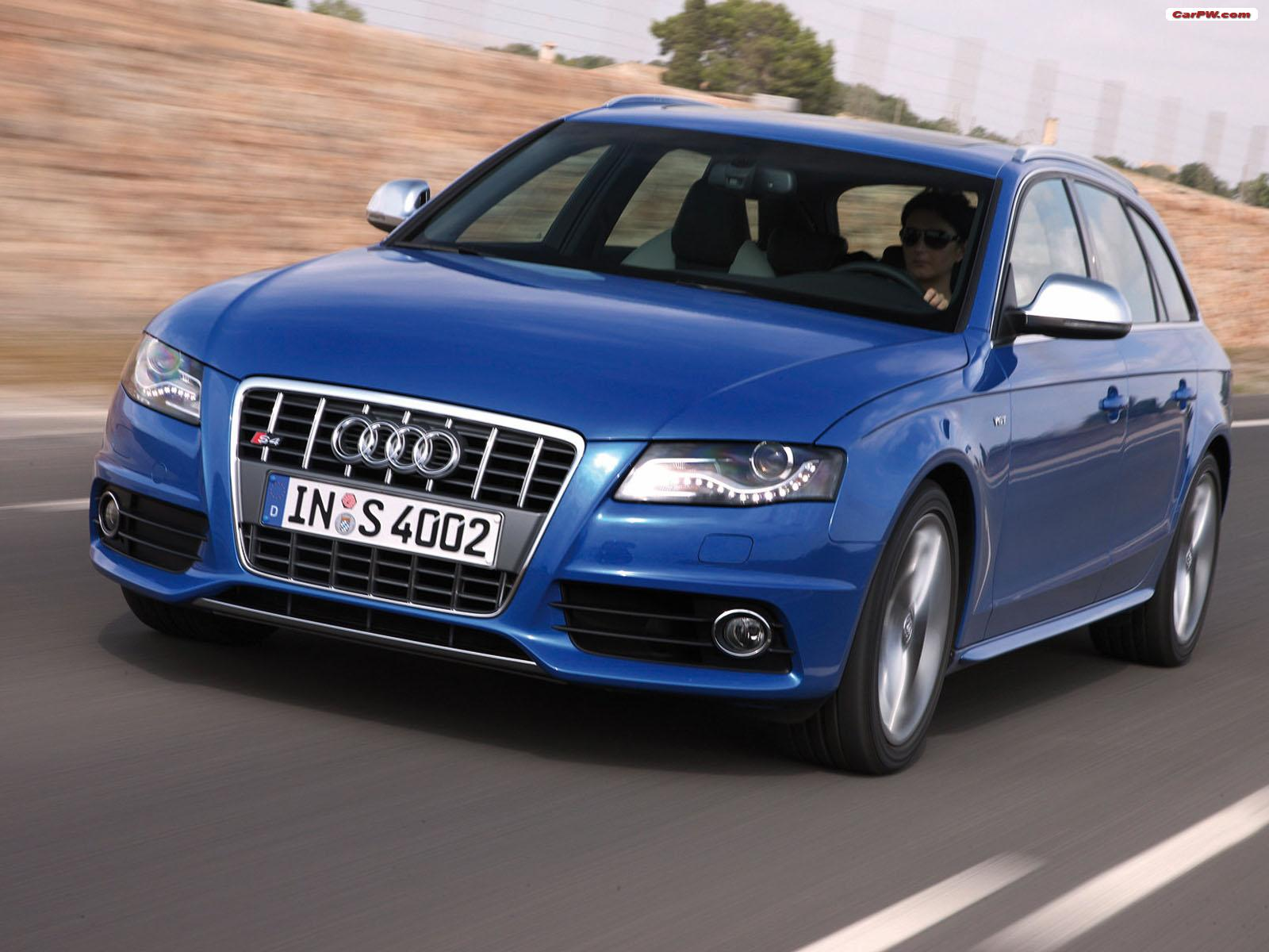2009 Audi S4 Avant car wallpapers HD Wallpapers High Definition 1600x1200