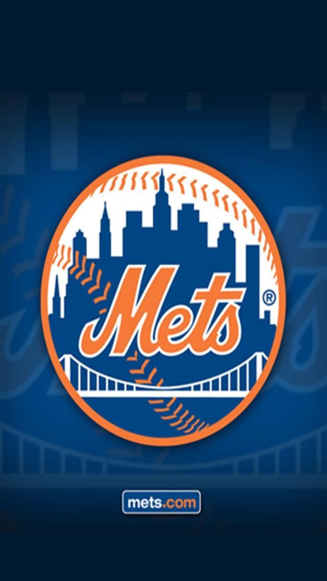 New York Mets 2 LOGO iPhone Wallpapers iPhone 5s4s3G Wallpapers 640x1136