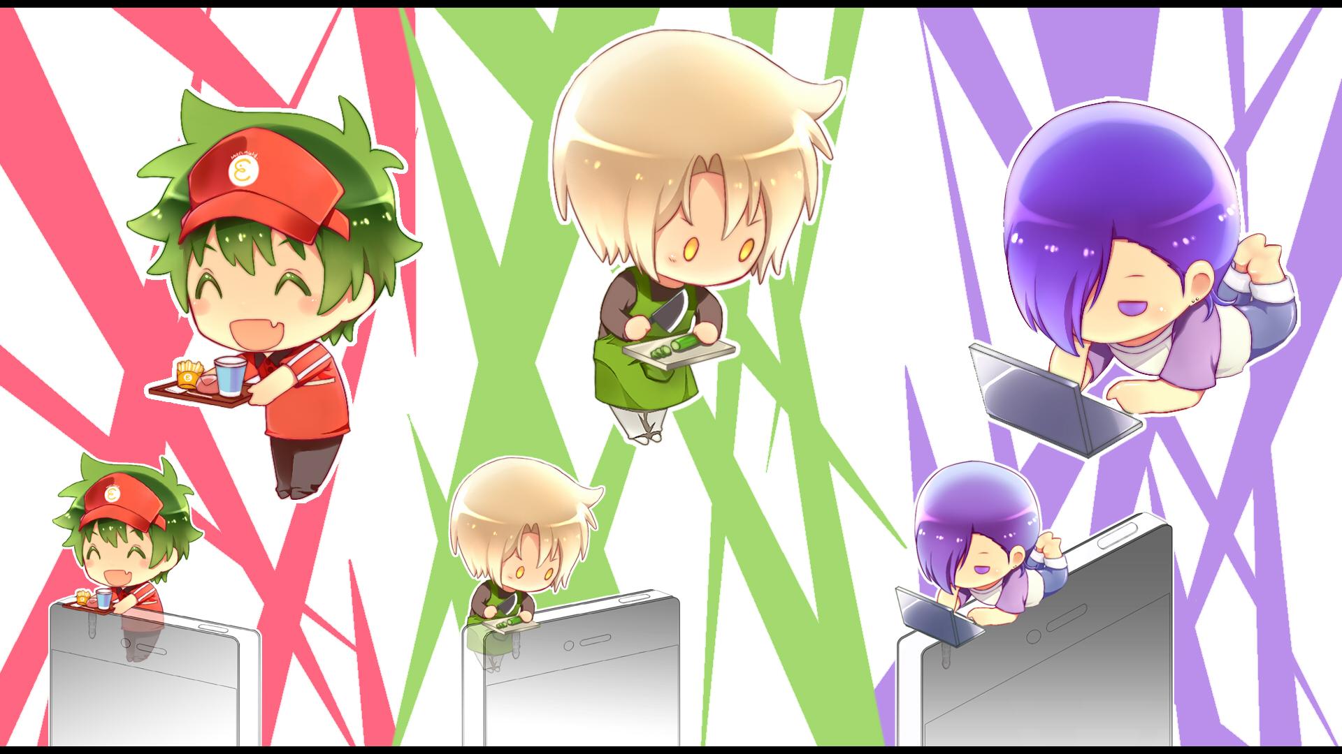 Hataraku Maou sama Wallpaper   Zerochan Anime Image Board 1920x1080