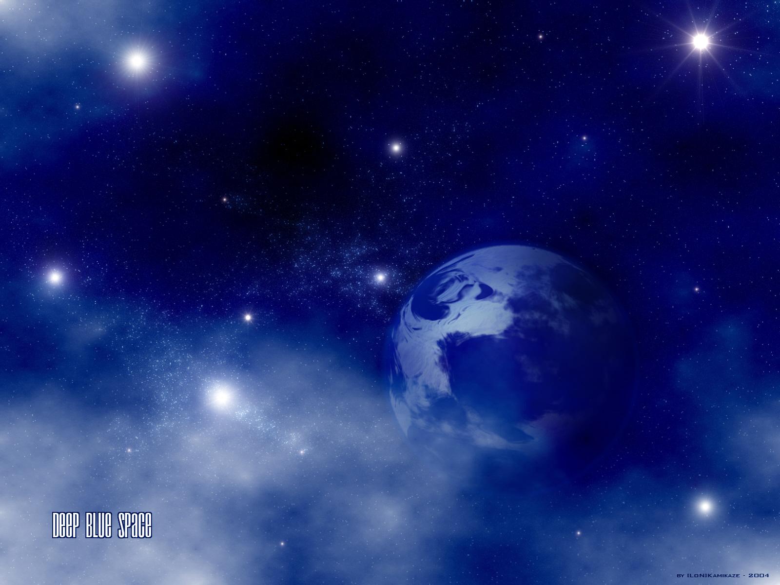 deep blue space by lon kamikaze customization wallpaper science 1600x1200