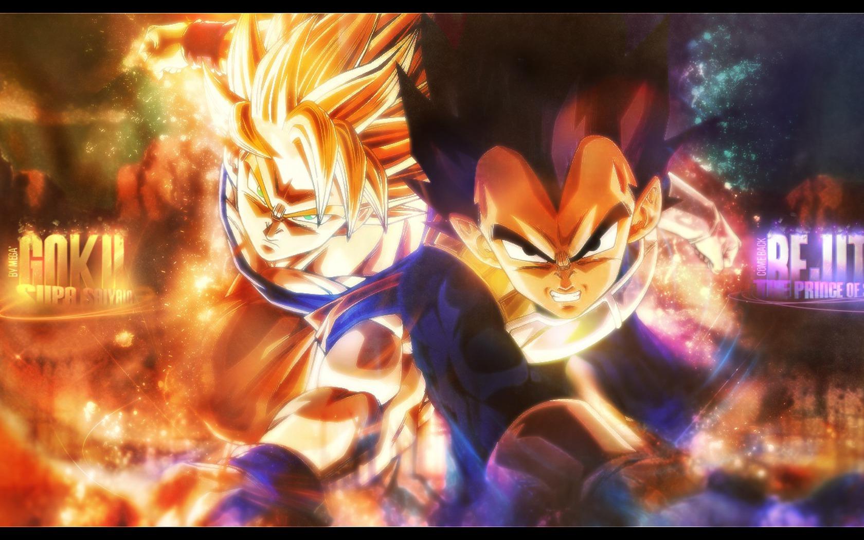 Vegeta Son Wallpaper 1680x1050 Vegeta Son Goku Goku Dragon Ball 1680x1050