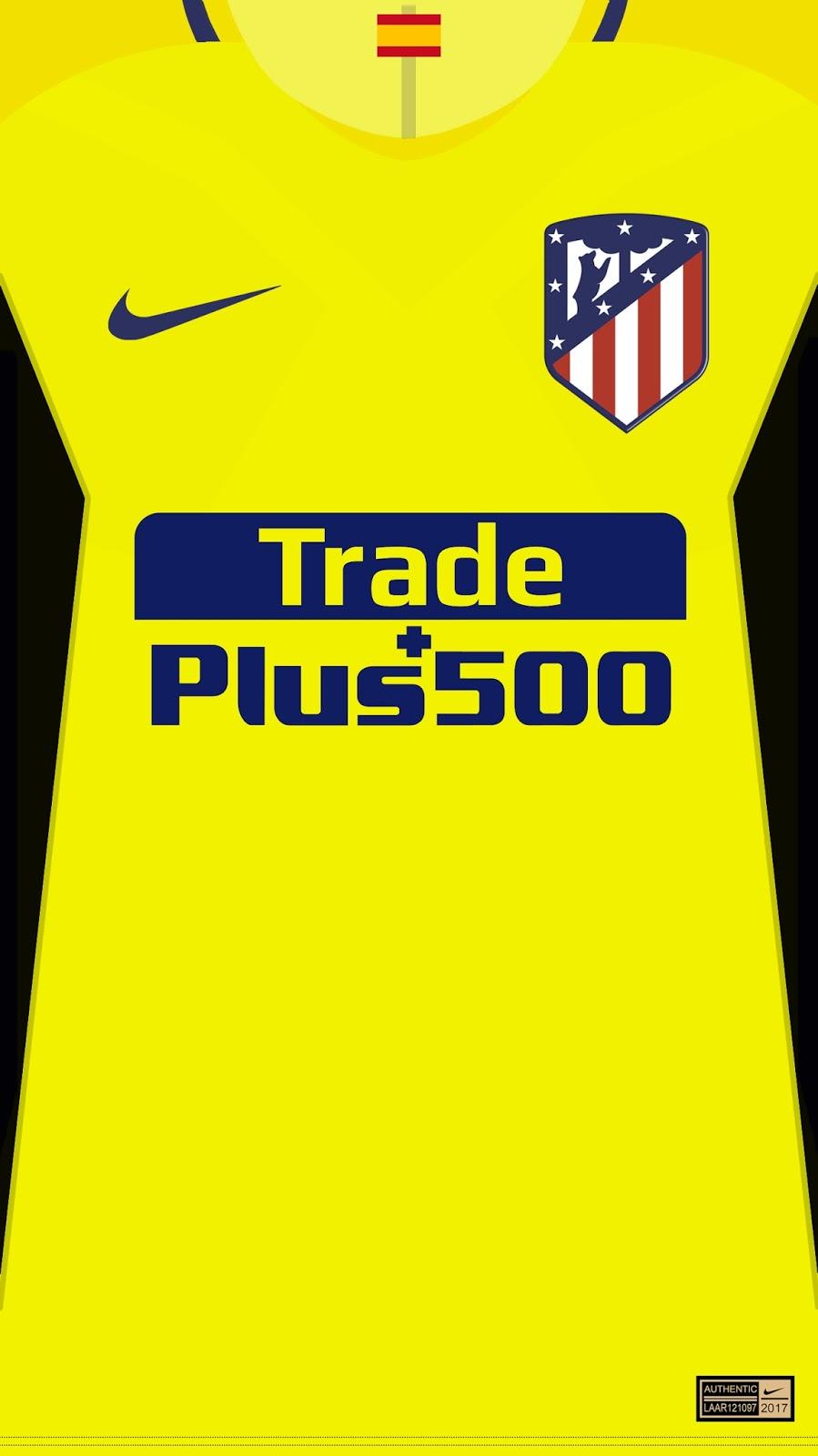 Wallpaper Jersey Atltico de Madrid 2017 2018 La Liga 899x1600