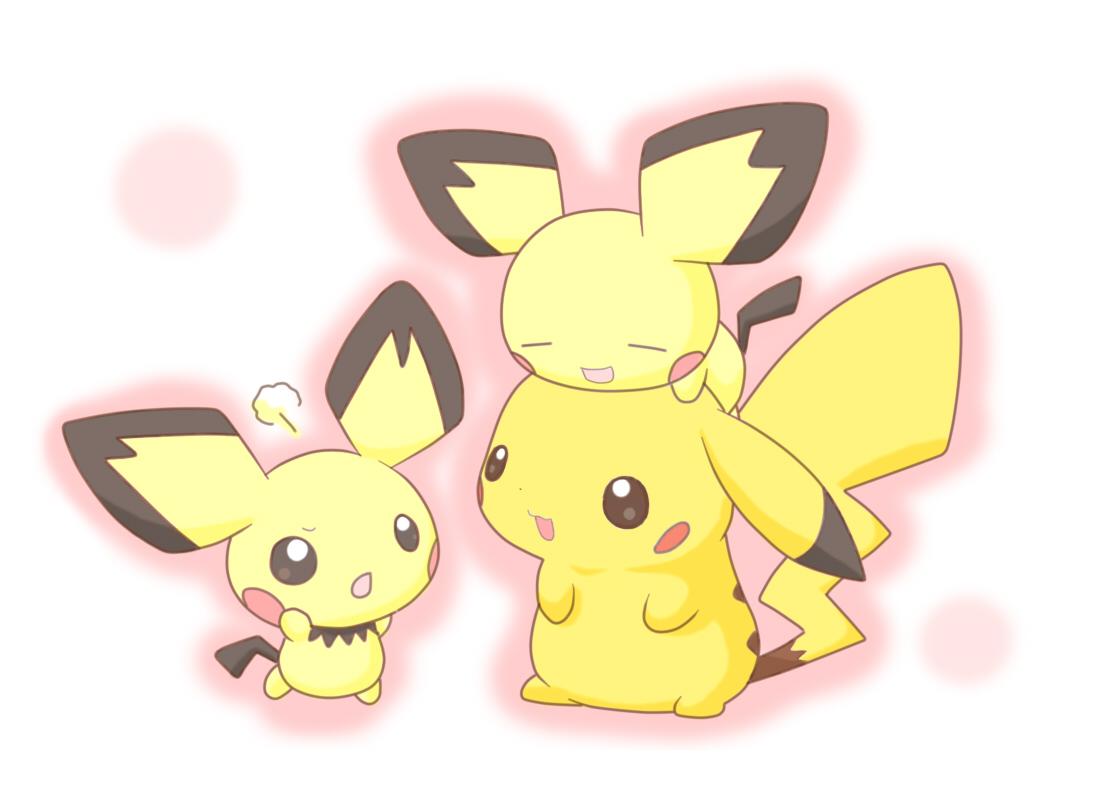 Pichu And Pikachu Wallpaper Pichu Pokemon Hd Wallpaper Hd Wallpapers 1100x800