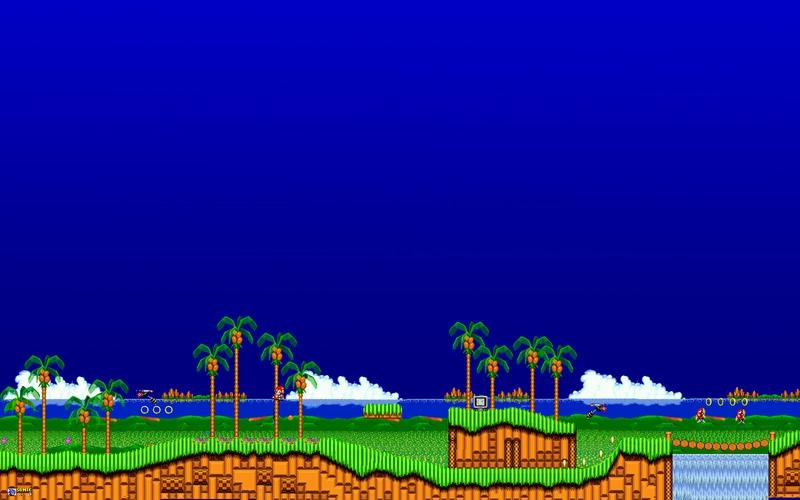 Classic Sonic Wallpaper Hd Wallpapersafari