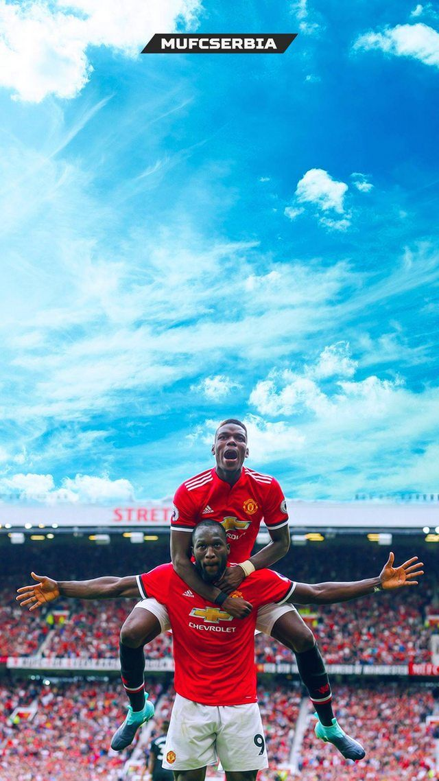 Pogba and Lukaku Man Utd wallpaper iphone UNITED 640x1138