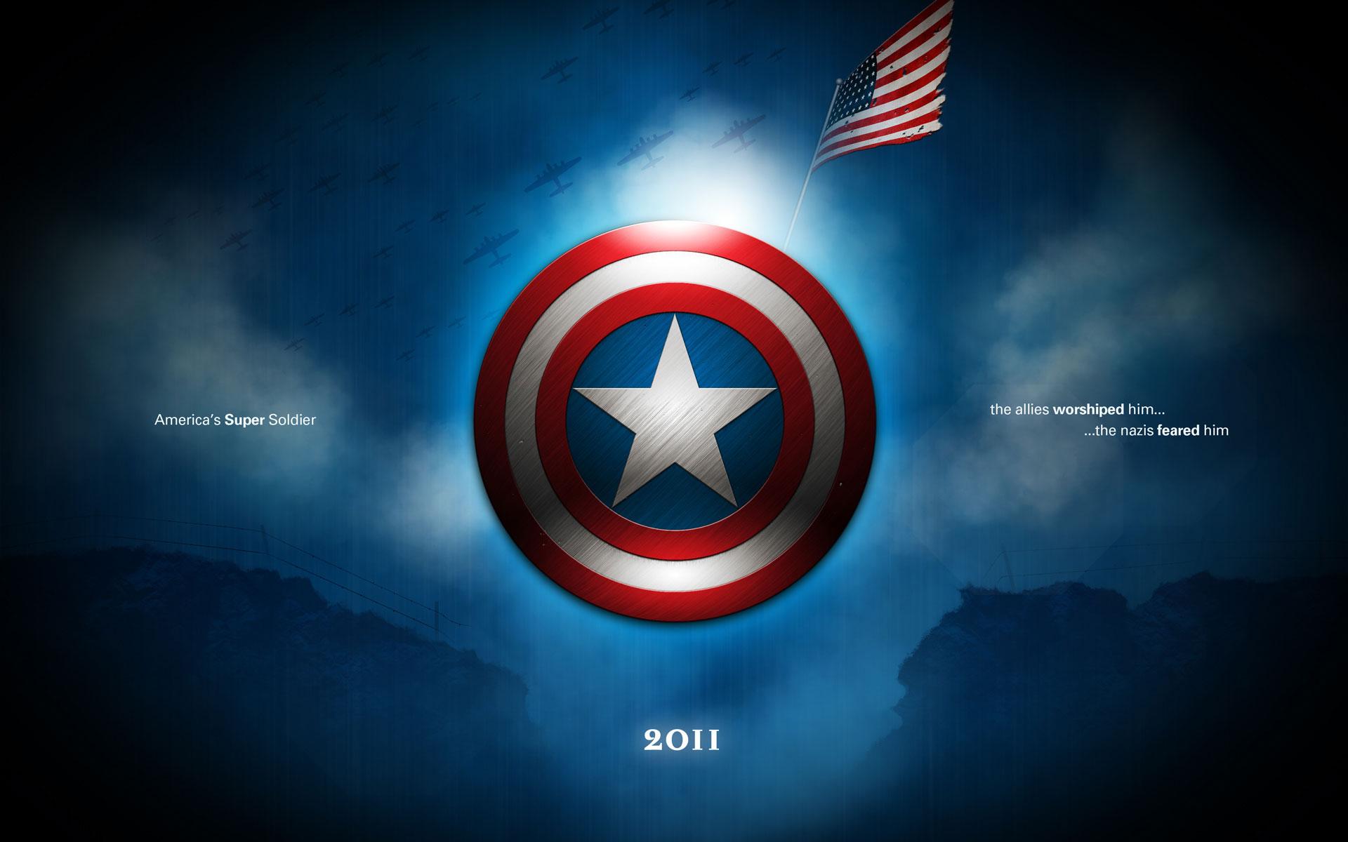 Captain America Shield Desktop HD Wallpapers 4278   HD Wallpapers Site 1920x1200