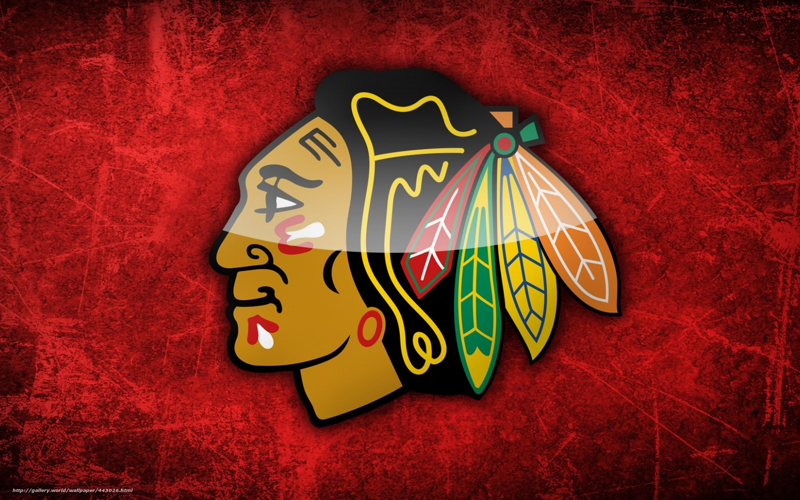 Download wallpaper NHL Chicago desktop wallpaper in the 1600x1000