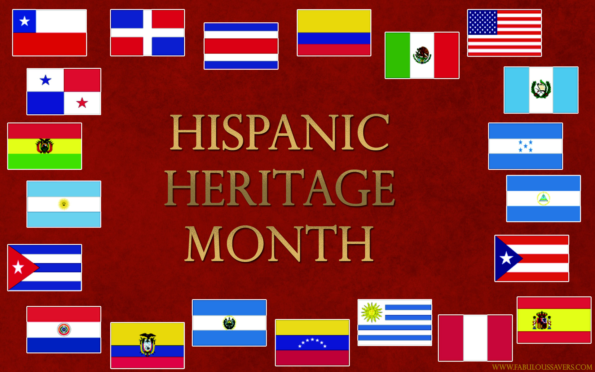 Hispanic Heritage Month computer desktop wallpapers pictures 1920x1200