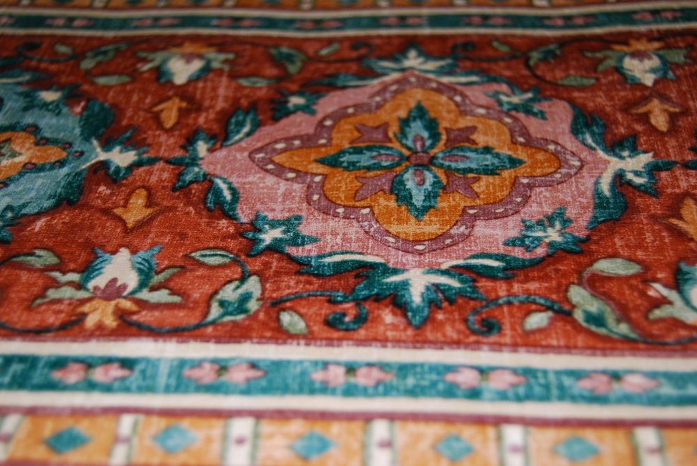 Woven Tapestry Geometric Design Wallpaper Border W1144 eBay 1000x669