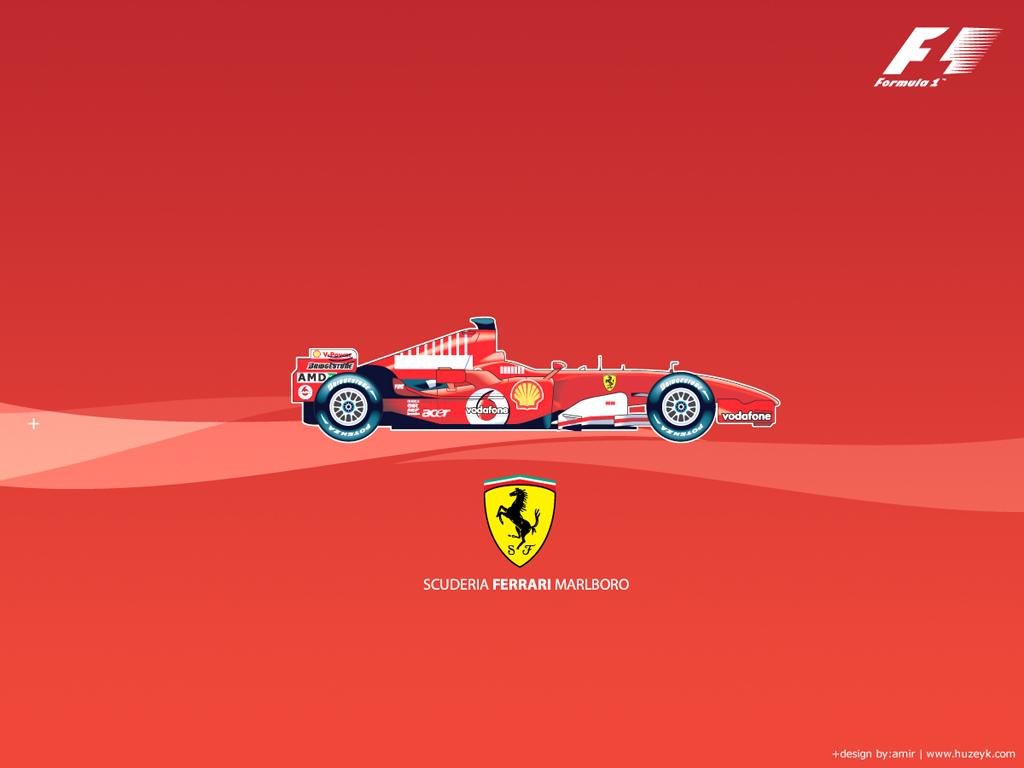 Ferrari f1 Marlboro Wallpaper 1024x768