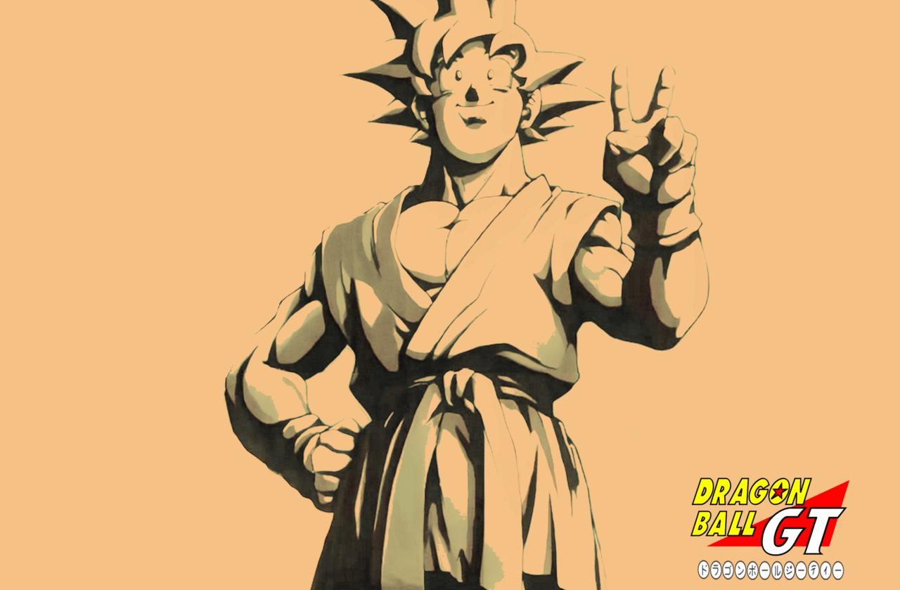 Goku Gt Wallpaper 1280x839