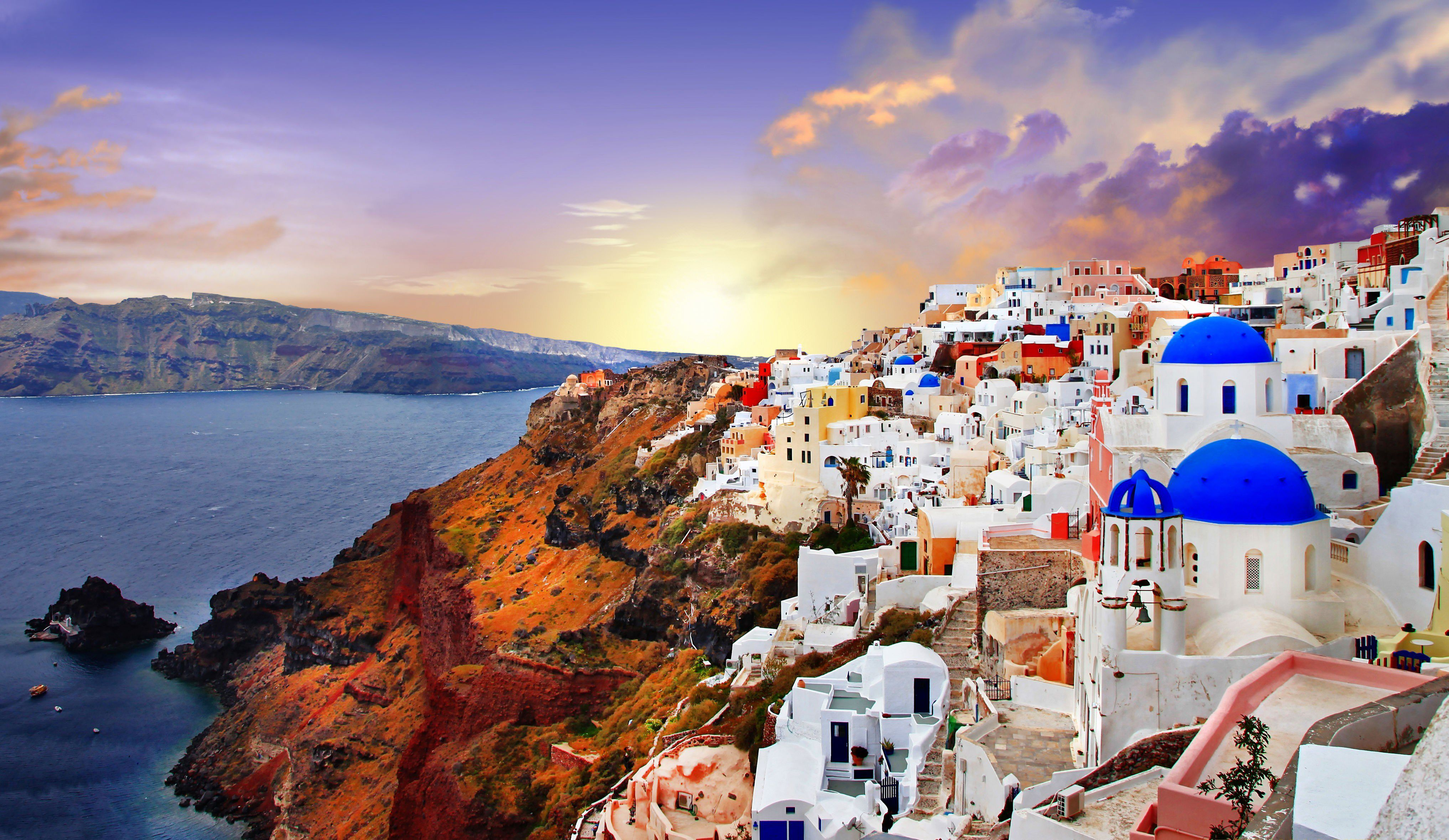 70 Santorini Wallpapers   Download at WallpaperBro 4067x2358