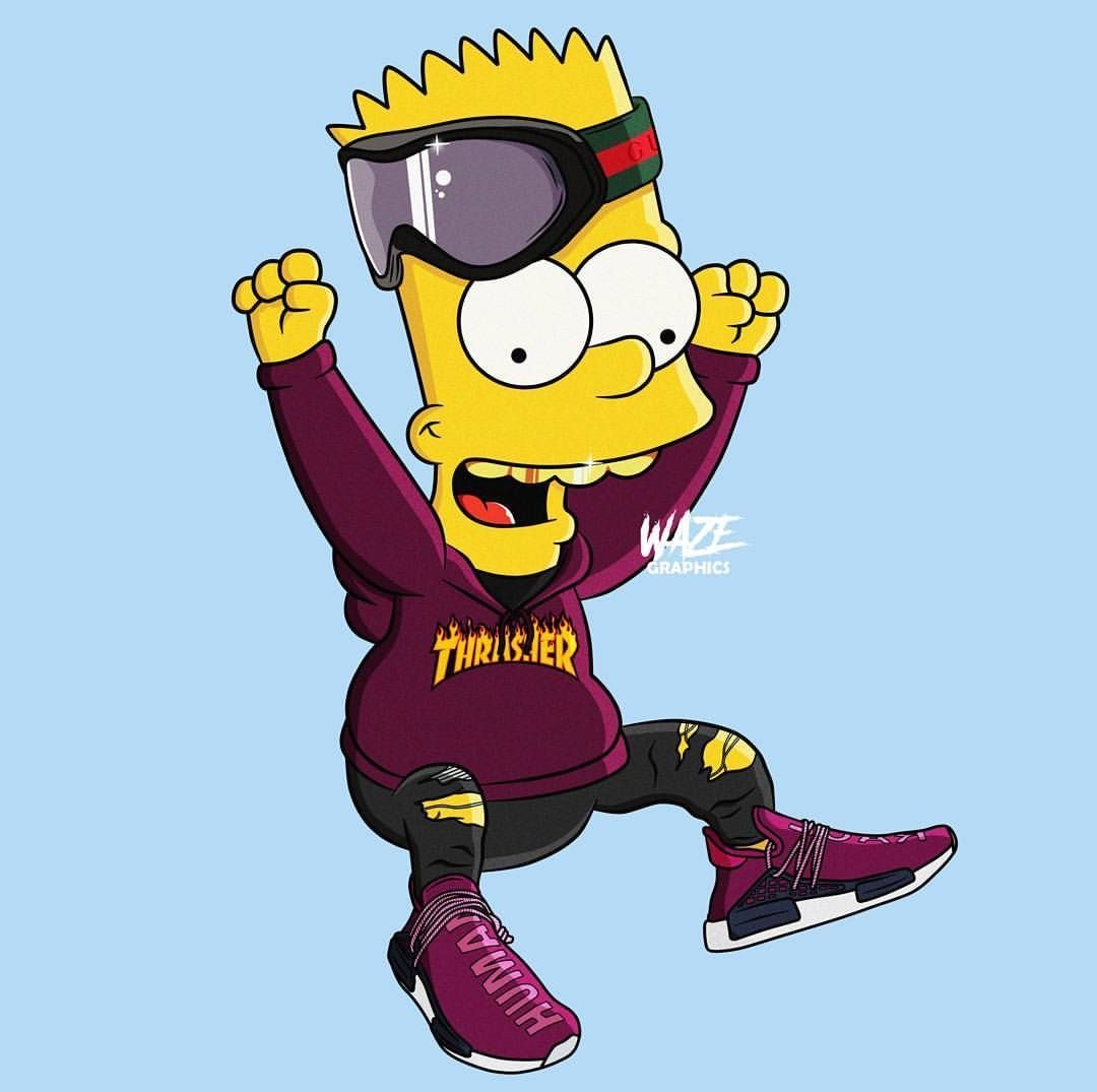 Hypebeast Bart Simpson Wallpapers   Top Hypebeast Bart 1080x1075