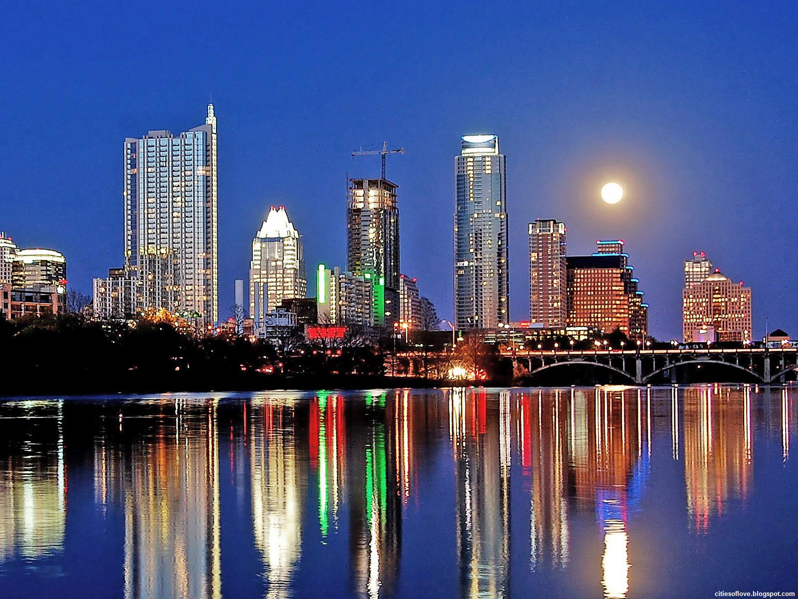 Beautiful Lady Bird Lake Texas United States Hd Desktop Wallpaper 1600x1200