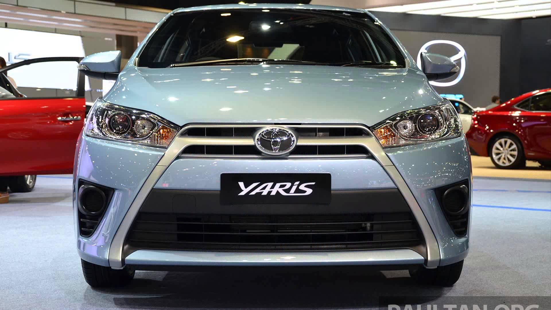 2015 Toyota Yaris Desktop Background Wallpapers 1920x1080