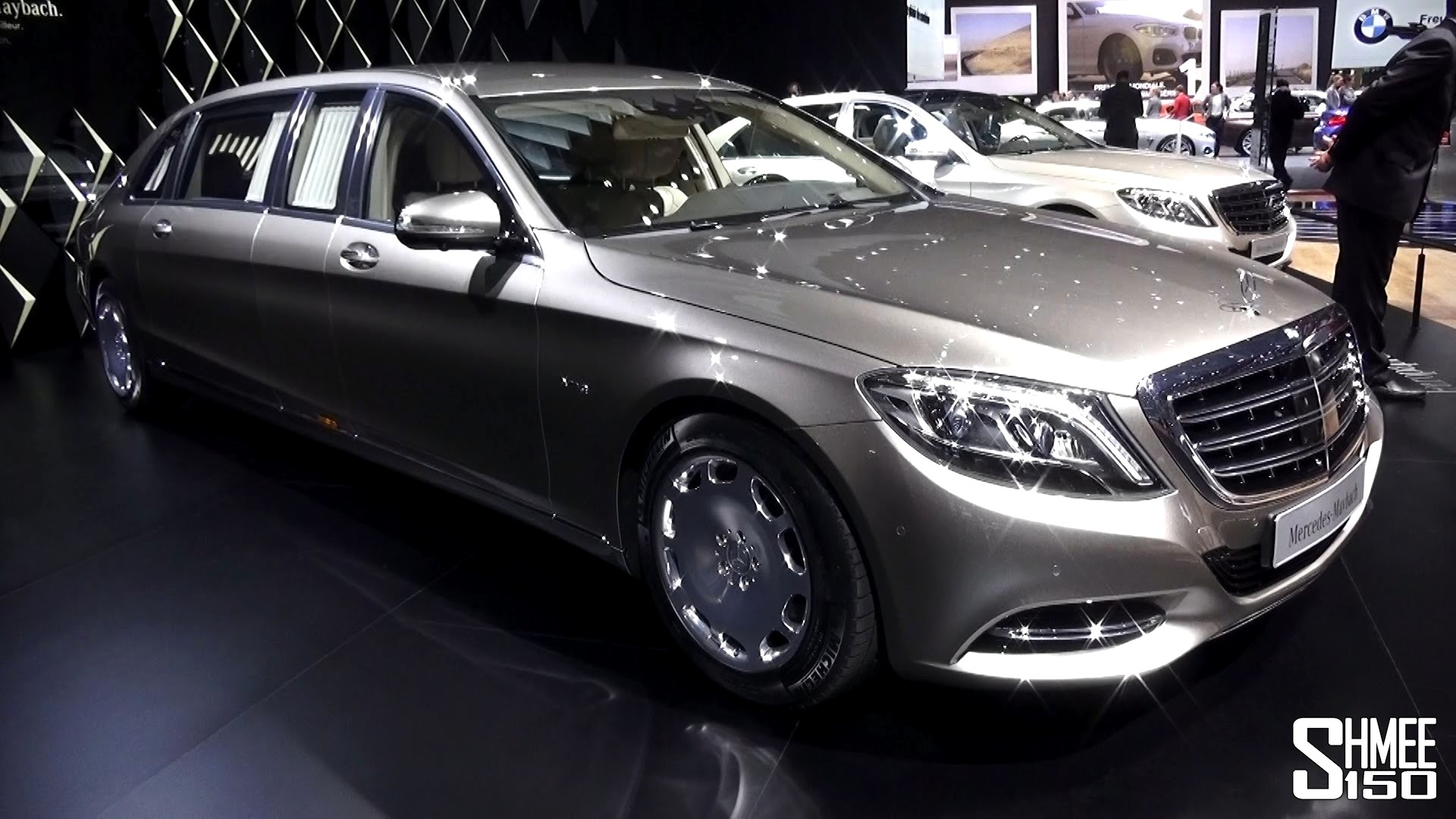 Mercedes Maybach S600 Wallpapers HD Download 1920x1080