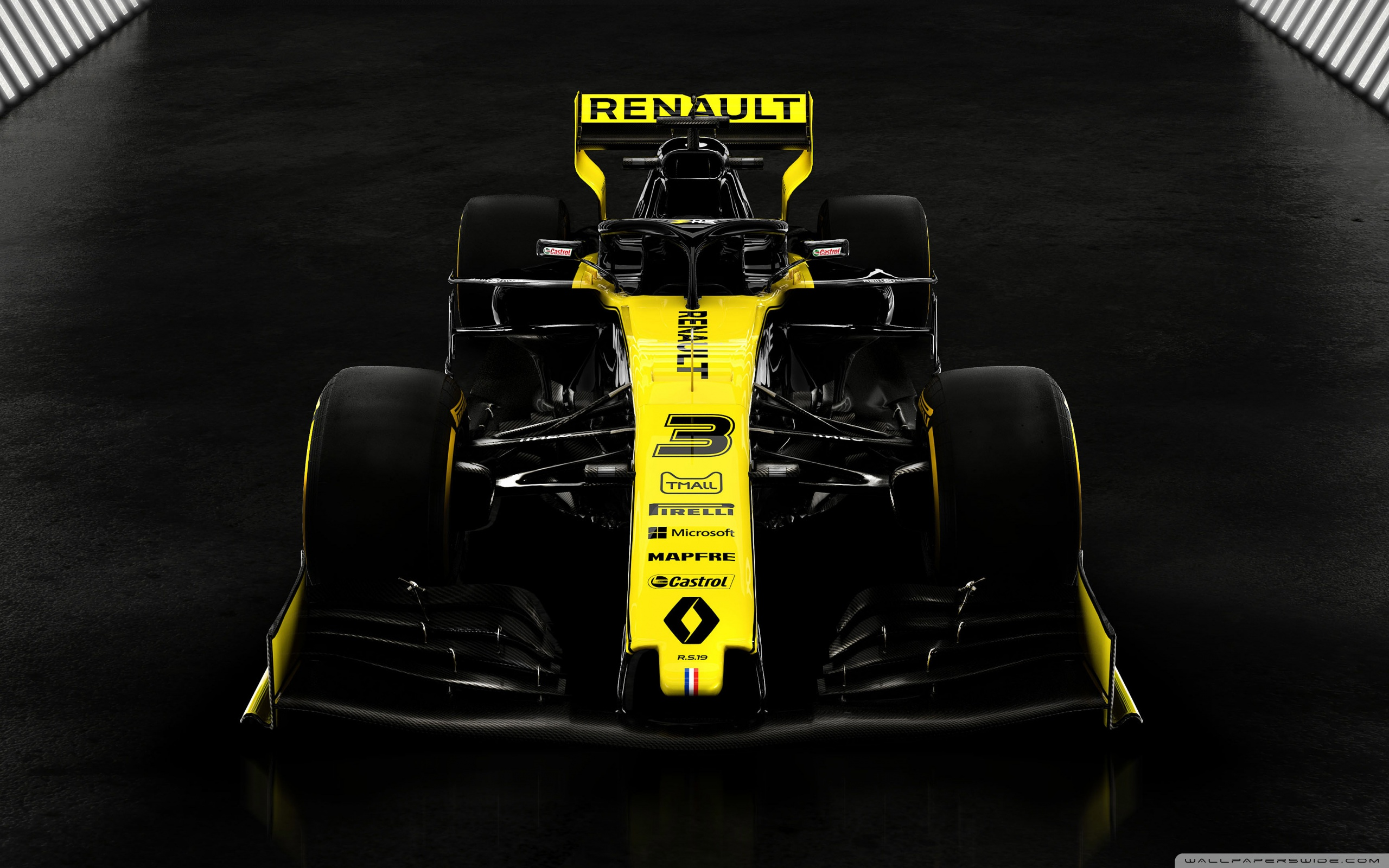Renault F1 2019 4K HD Desktop Wallpaper for 4K Ultra HD TV 2560x1600