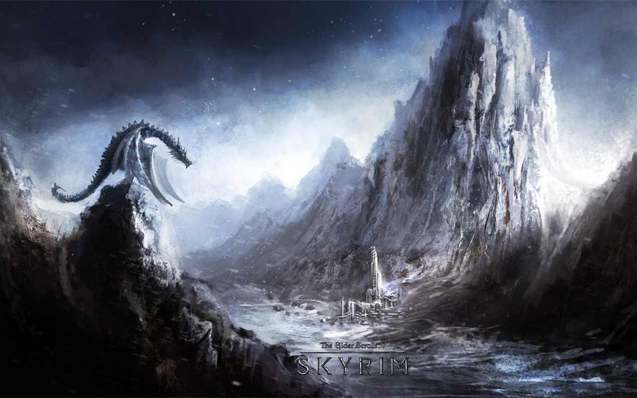 Skyrim Wallpapers   Elder Scrolls V Skyrim Wallpaper 30761185 1280x800