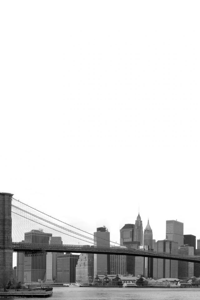 640x960 Brooklyn Bridge Iphone 4 wallpaper 640x960