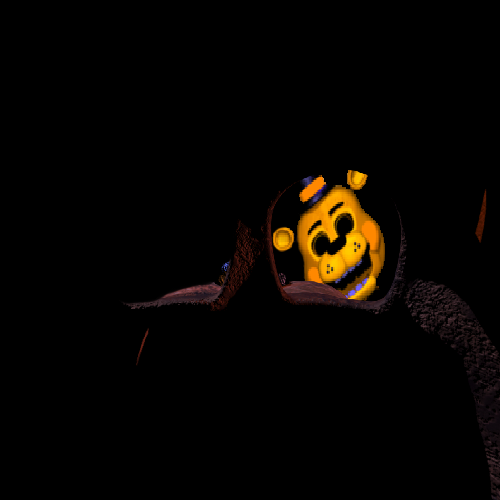 Toy Golden Freddy by DarkFireOmega 500x500