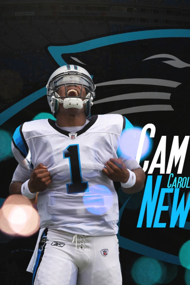 Cam Newton Of The Carolina Panthers Wallpaper For IPhone 4 640x960