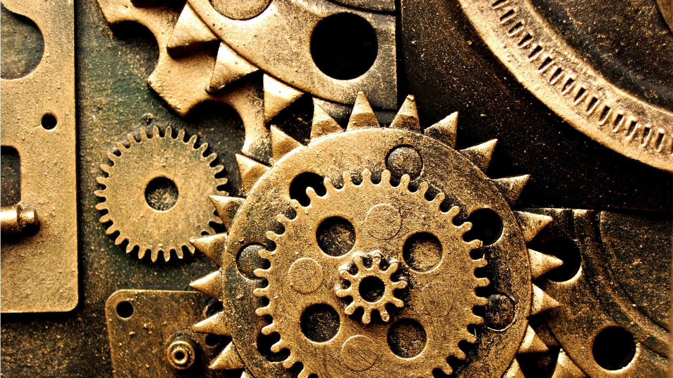 Mechanical Wallpapers 4USkYcom 1366x768