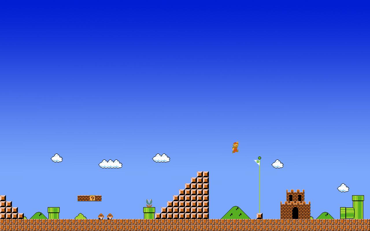 Mario Bros Wallpaper HD - WallpaperSafari