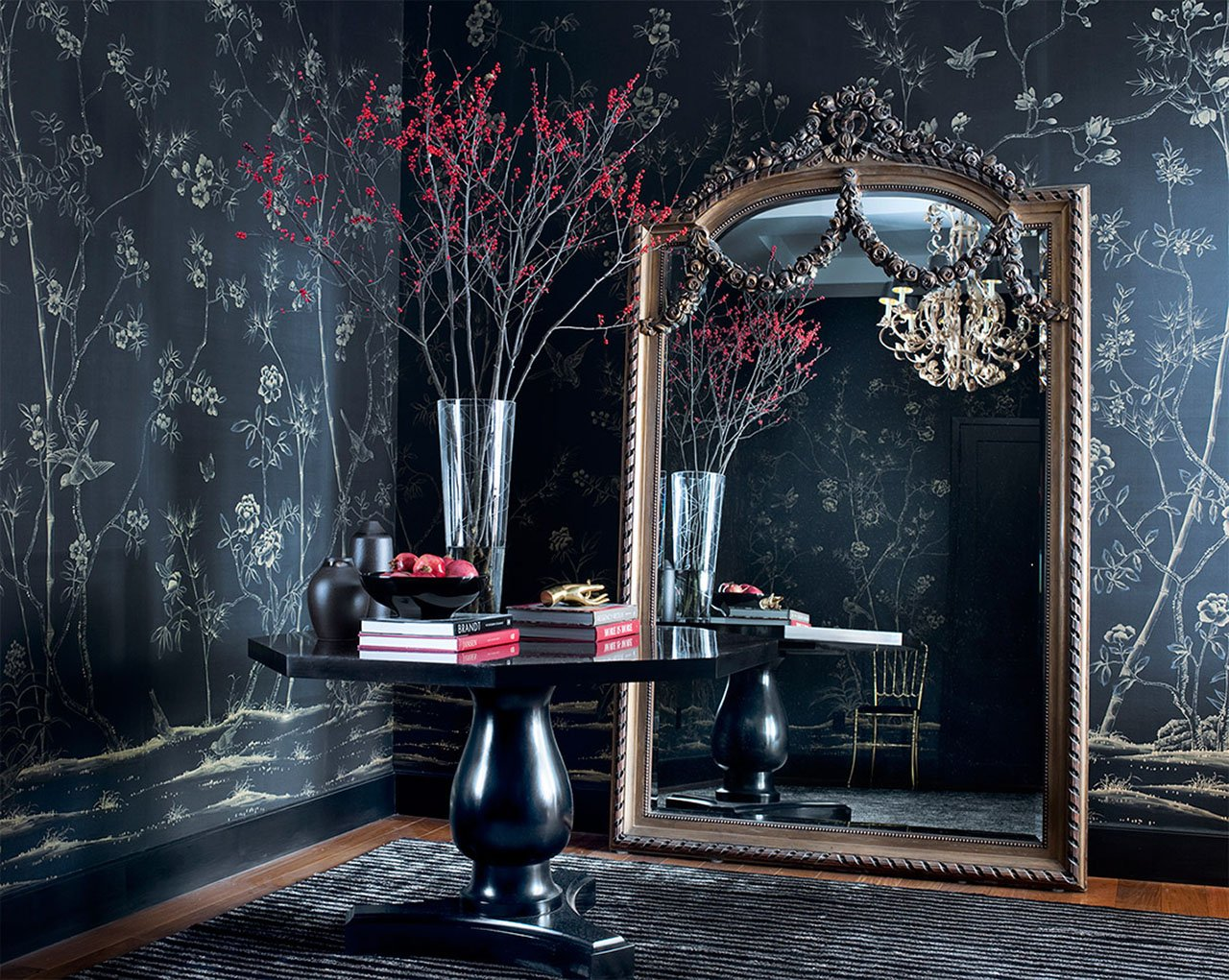 DE GOURNAY The Worlds Most Beautiful Hand painted Wallpapers 1280x1021