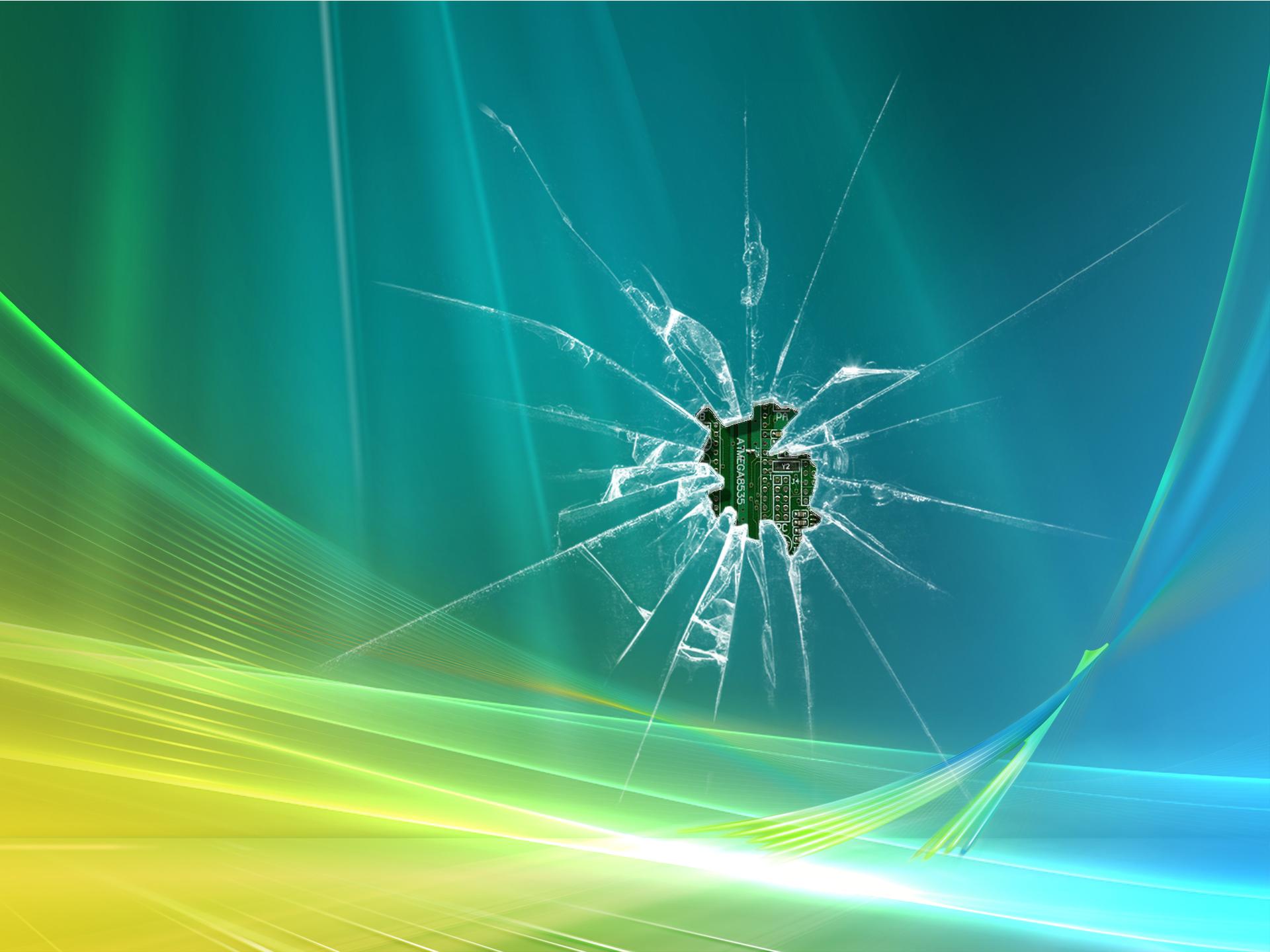 Broken screen 1920x1440