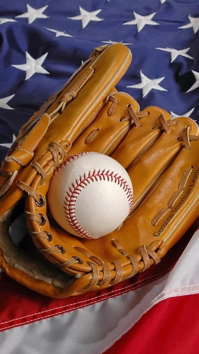 20 American Flag Baseball Wallpapers On Wallpapersafari