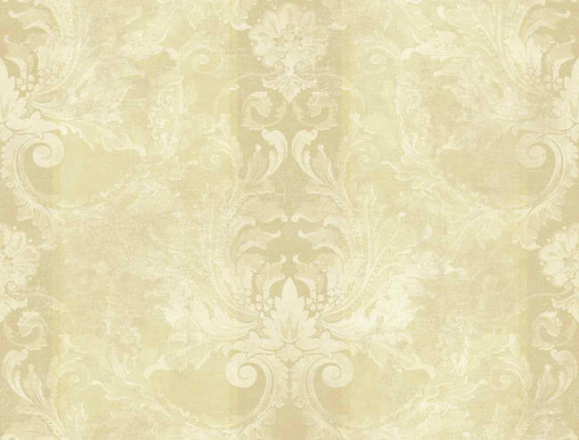 Tan Beige Aidi Damask Stripe Wallpaper   Traditional Wallpaper 650x494