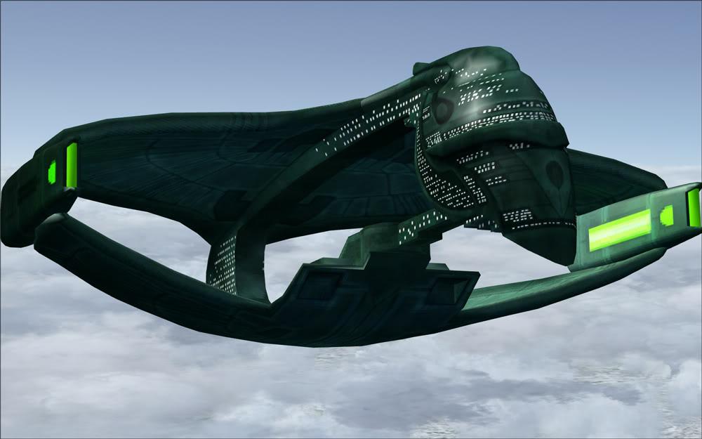 Free download FSX Romulan Warbird Graphics Code FSX Romulan Warbird